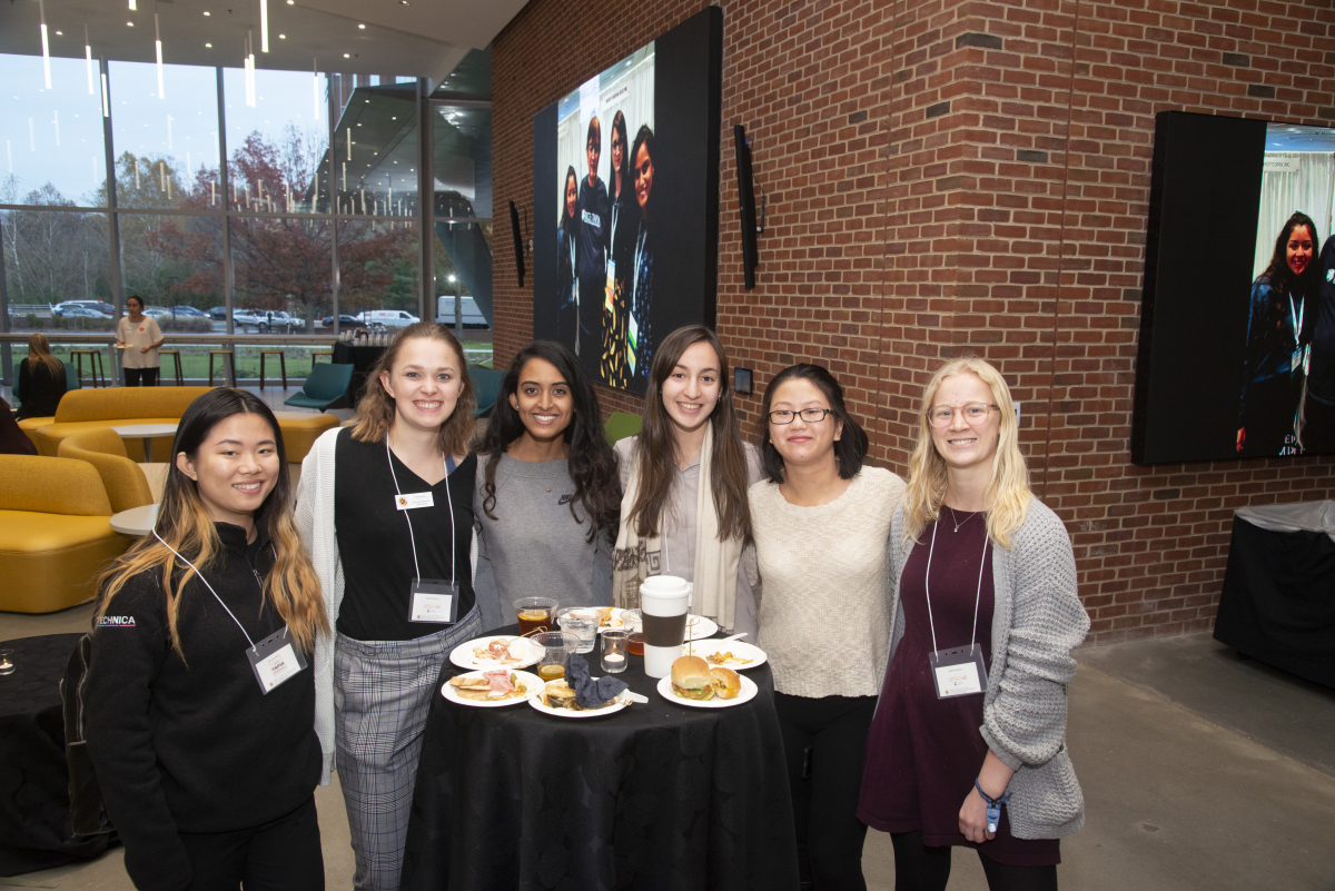 UMD Computing Students at the 2019 Diversity in Computing Celebration