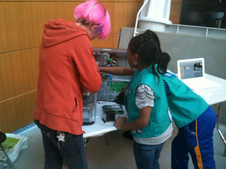 Girl Scout STEM Outreach