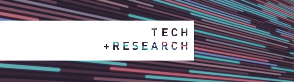 Tech + Research Banner